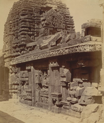 South-east view of the Shishireshvara Temple, Bhubaneshwar